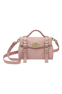 MULBERRY Alexa mini nappa leather satchel