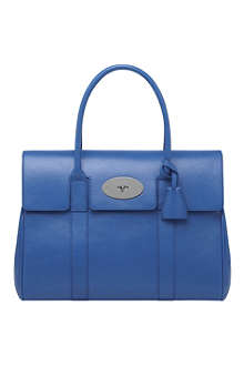MULBERRY Bayswater shiny goat leather handbag