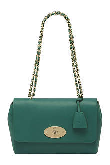 MULBERRY Lily medium micrograin leather shoulder bag