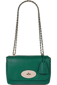 MULBERRY Micrograin calf leather shoulder bag