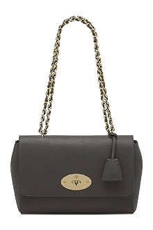 MULBERRY Lily medium glossy goat leather shoulder bag