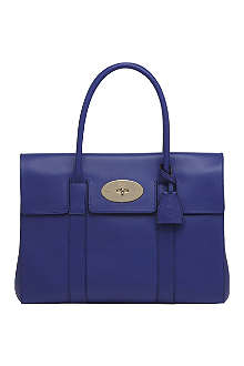 MULBERRY Bayswater polished calf leather handbag