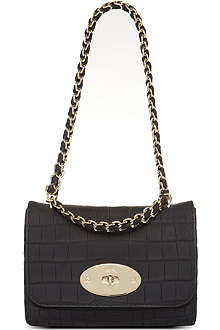 MULBERRY Cecily crocodile effect shoulder bag