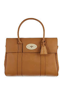 MULBERRY Bayswater glossy goat leather tote