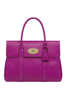 MULBERRY Bayswater glossy goat leather handbag