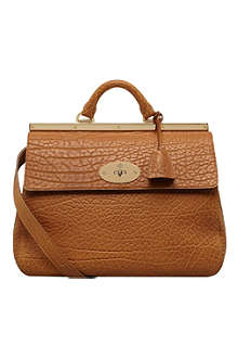 MULBERRY Suffolk shrunken calf leather bag