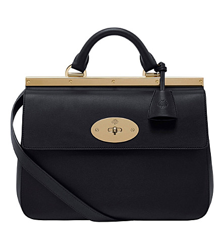 MULBERRY Small Suffolk cross-body bag (Black