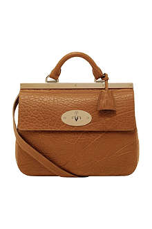 MULBERRY Suffolk small shrunken calf leather bag