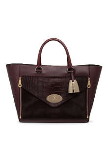 MULBERRY Willow ponyskin tote