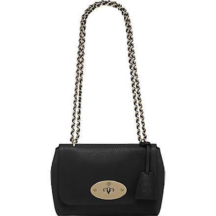 MULBERRY Lily soft grain leather bag (Black