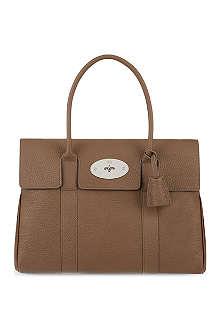 MULBERRY Bayswater soft grained leather handbag