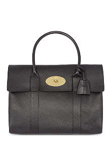 MULBERRY Bayswater pocket natural leather tote