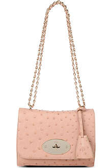 MULBERRY Lily ostrich-leather shoulder bag