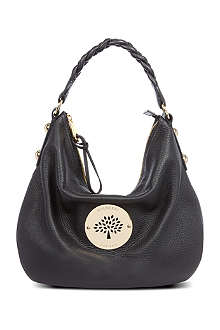 MULBERRY Daria medium spongy leather hobo bag