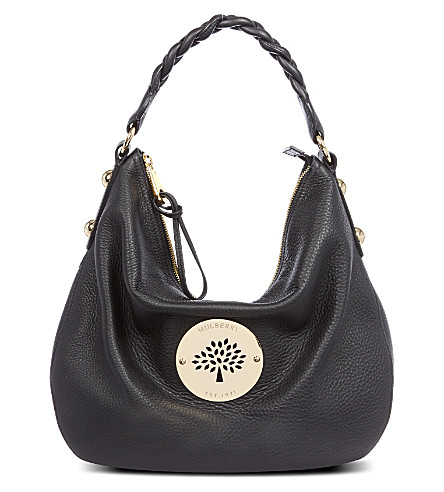 MULBERRY Medium Daria hobo (Black