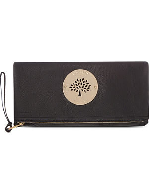 MULBERRY Daria spongy pebbled leather clutch