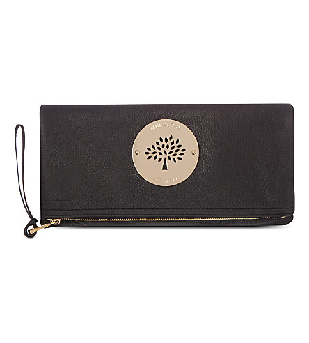 MULBERRY Daria clutch (Black