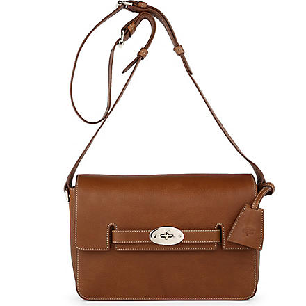 MULBERRY Bayswater natural leather shoulder bag (Oak