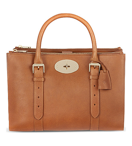MULBERRY Bayswater Double Zip tote (Oak