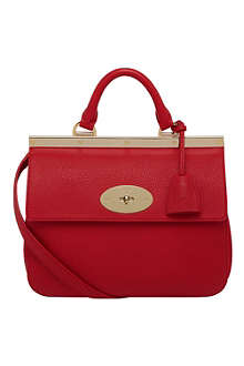 MULBERRY Small Suffolk soft grain leather bag