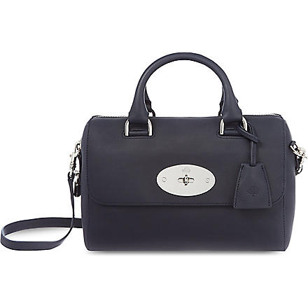 MULBERRY Del Ray leather cross-body bag (Midnight