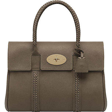 MULBERRY Pembridge Baywater soft grain leather tote (Taupe