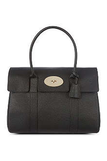MULBERRY Pocket Bayswater soft grain leather handbag