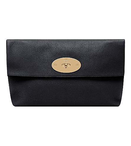 MULBERRY Clemmie clutch (Black