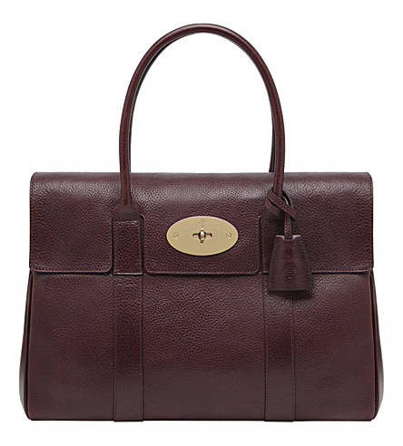 MULBERRY Bayswater leather bag (Oxblood