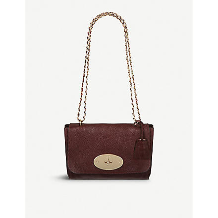 MULBERRY Lily soft grain bag (Oxblood