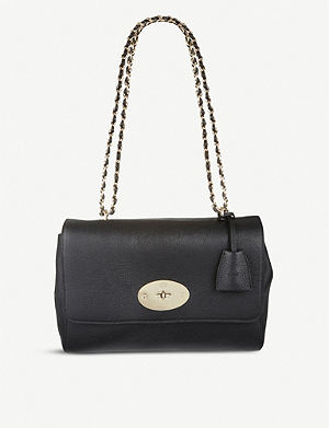 MULBERRY Lily glossy goat leather bag