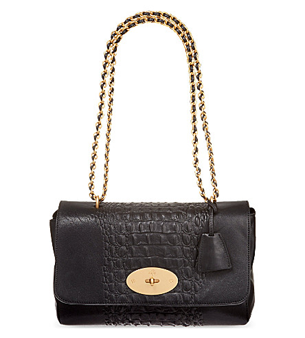 MULBERRY Medium Lily shoulder bag (Black