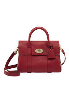 MULBERRY Bayswater small natural leather satchel