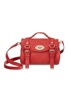 MULBERRY Mini Alexa shrunken satchel
