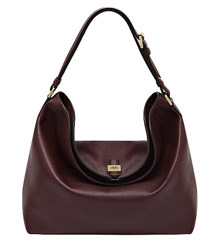 MULBERRY Tessie hobo bag (Oxblood