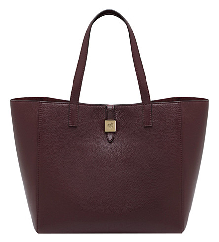 MULBERRY Tessie tote (Oxblood