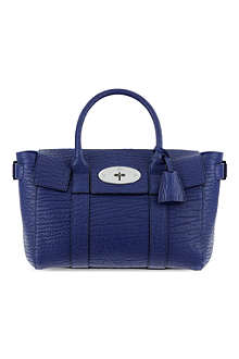 MULBERRY Bayswater small leather buckle bag