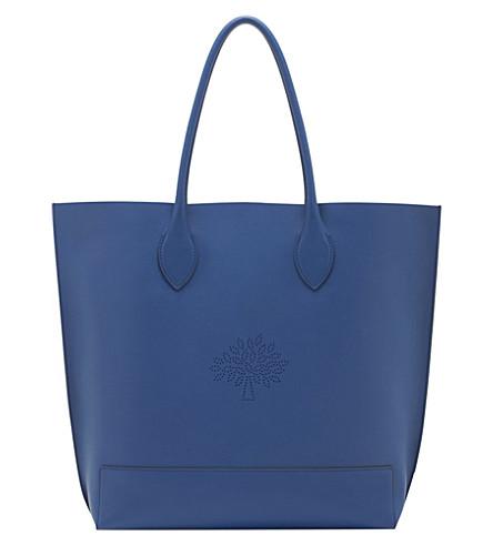 MULBERRY Blossom tote (Sea blue