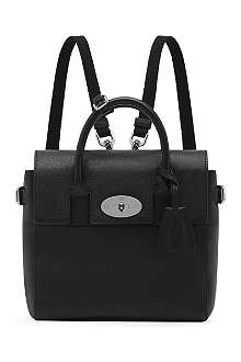 MULBERRY Mini Cara natural-leather backpack