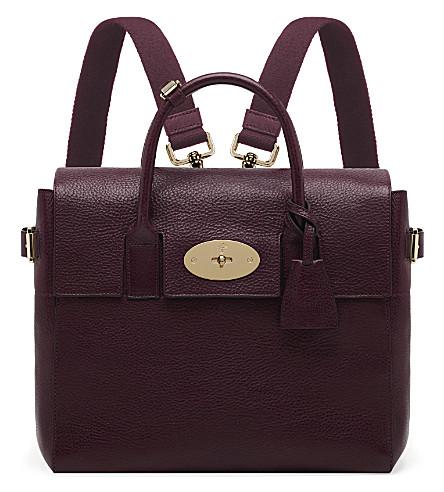 MULBERRY Cara Delevigne bag (Oxblood