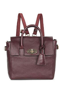 MULBERRY Mini Cara natural leather backpack