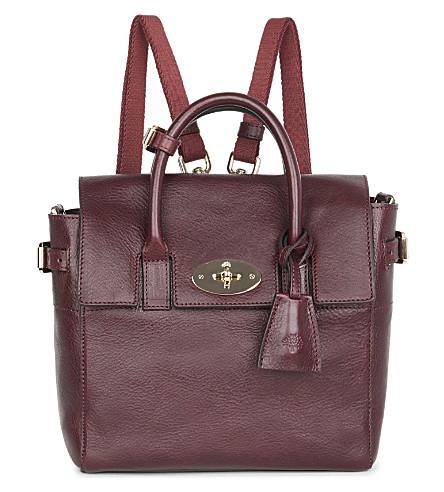 MULBERRY Mini Cara Delevingne bag (Oxblood