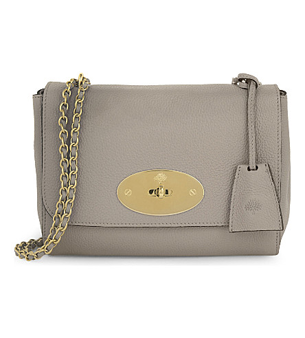 MULBERRY Lily grained leather shoulder bag (Dune