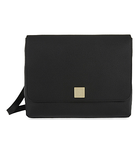 MULBERRY Freya leather satchel (Black