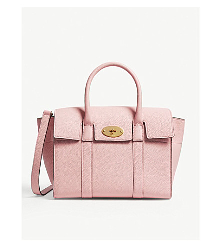 3bf90583ed MULBERRY Bayswater small leather tote bag (Sorbet+pink