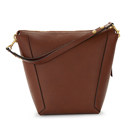 MULBERRY Camden leather hobo bag (Oak