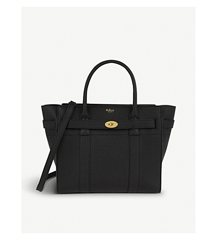 MULBERRY Bayswater small leather bag (Black