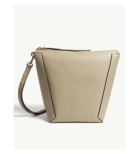 MULBERRY Camden grained leather hobo bag (Dune