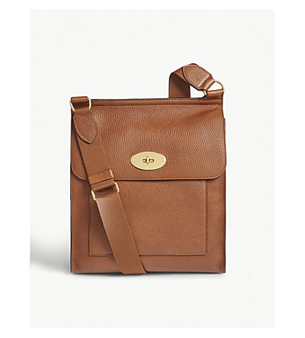 MULBERRY Antony leather shoulder bag (Oak
