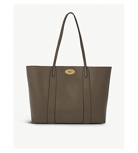 MULBERRY Bayswater leather tote bag (Clay